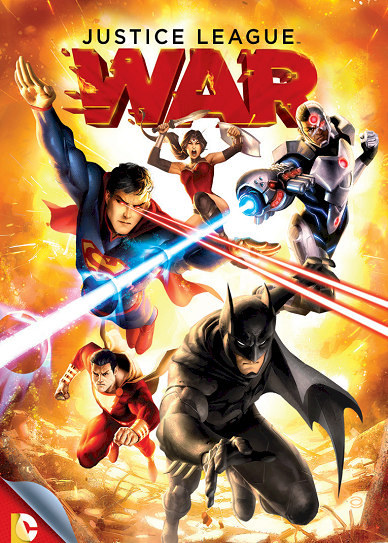 Justice League War (2014) cover