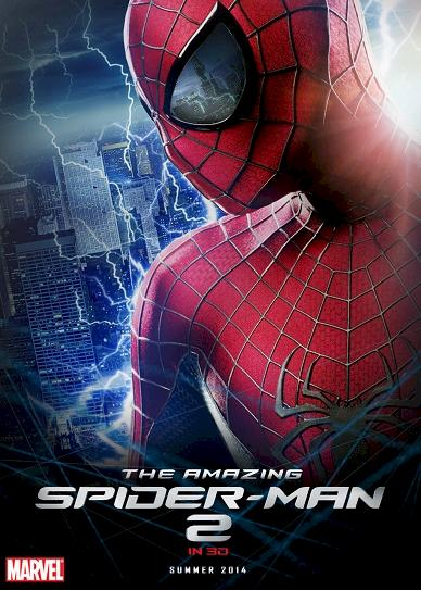 The Amazing Spider Man 2 (2014) cover
