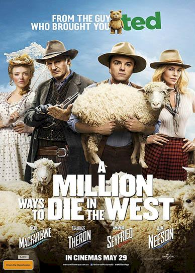 A Million Ways to Die in the West (2014) cover