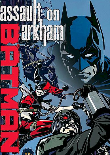 Batman Assault on Arkham (2014) cover