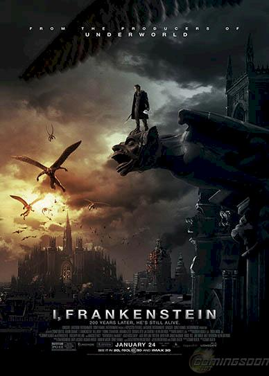 I, Frankenstein (2014) cover
