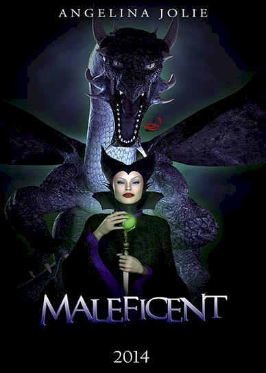 Maleficent (2014) cover