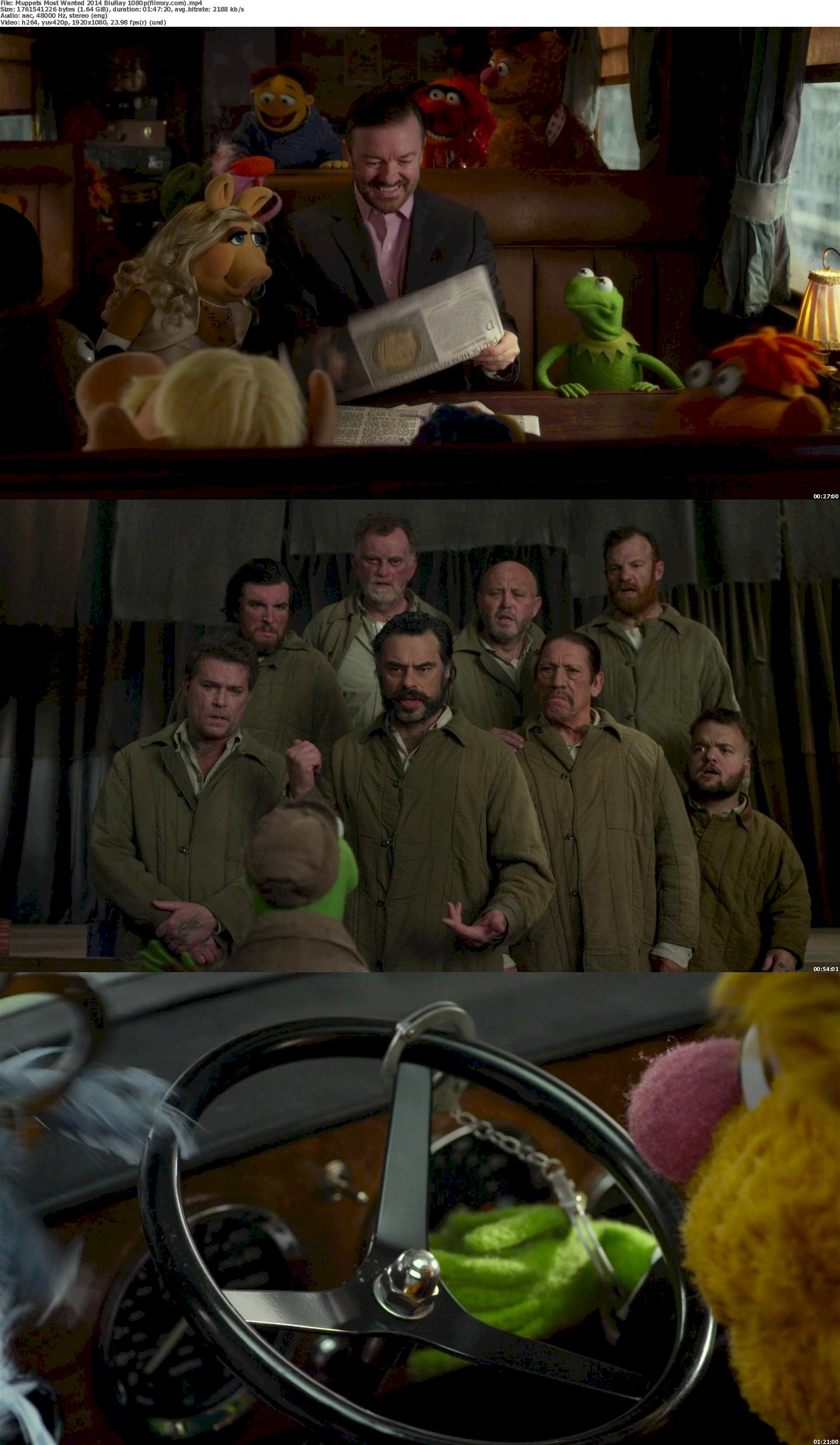 Muppets Most Wanted (2014) 1080p Screenshot
