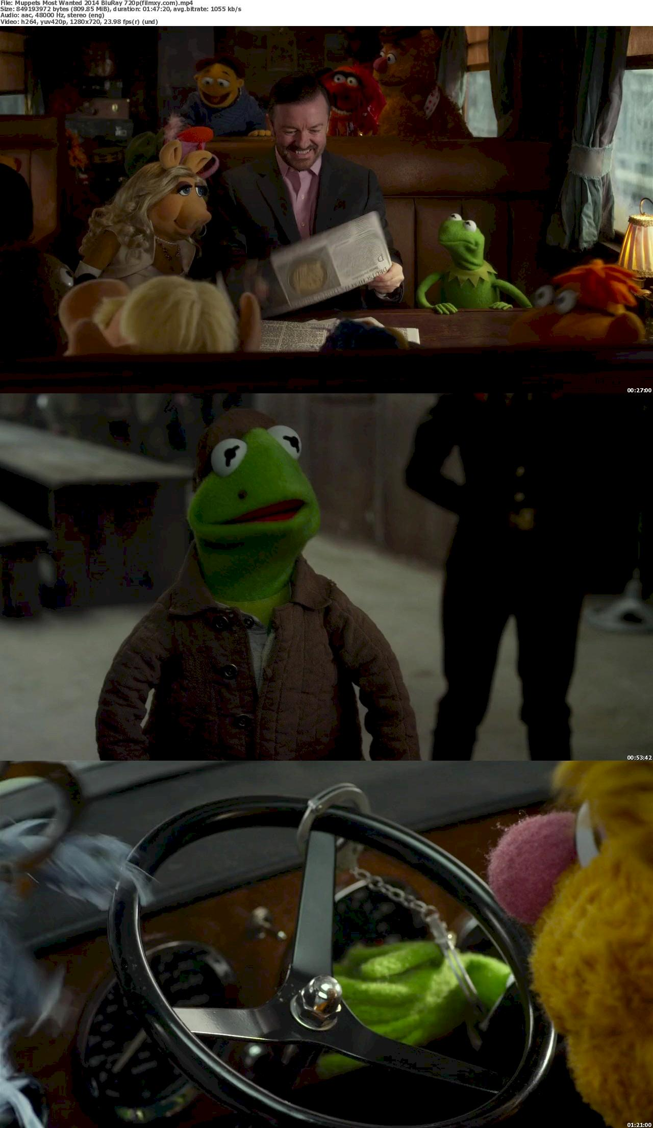 Muppets Most Wanted (2014) 720p Screenshot