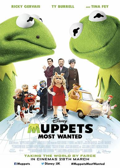 Muppets Most Wanted 2014 cover