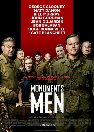 The Monuments Men (2014) cover
