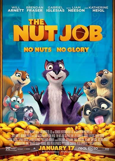 The Nut Job (2014) cover