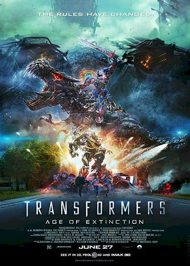 Transformers Age of Extinction (2014) cover