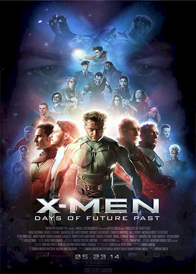 X-Men Days of Future Past (2014) cover