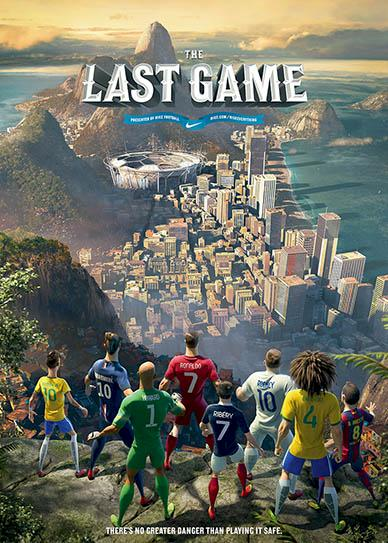The last game cover