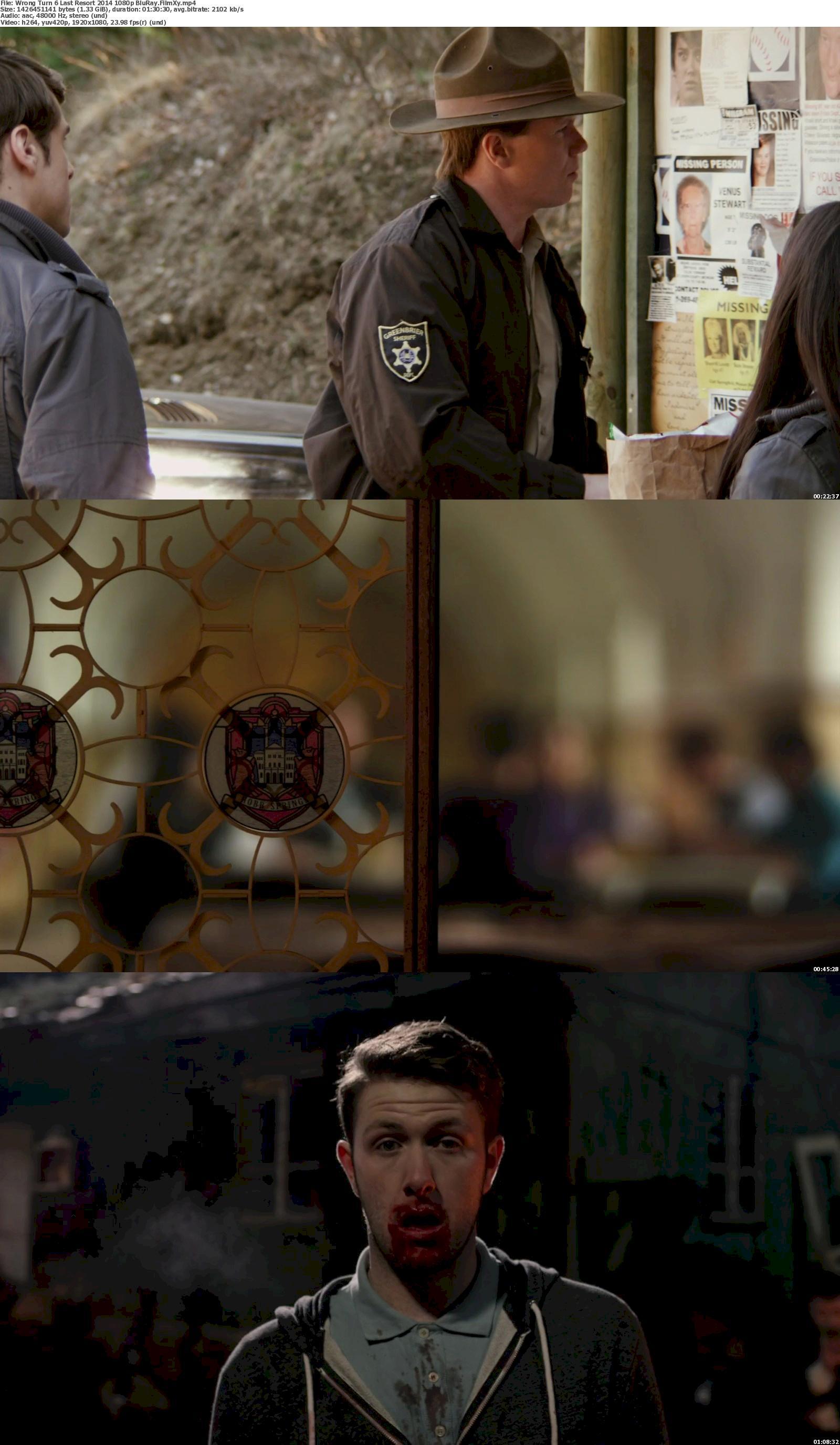 Watch Wrong Turn 6: Last Resort (2014) Full Movie on Filmxy