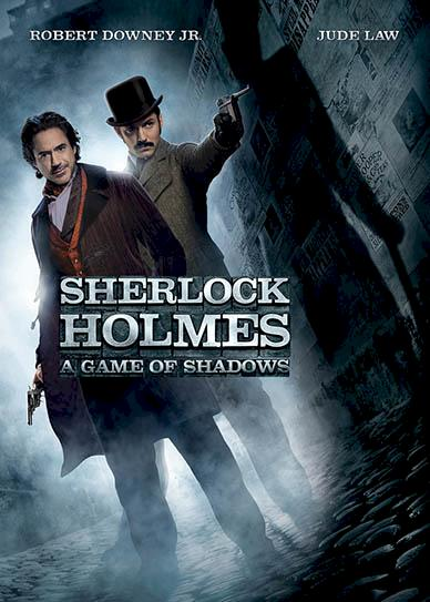 Sherlock Holmes A Game of Shadows (2011) cover