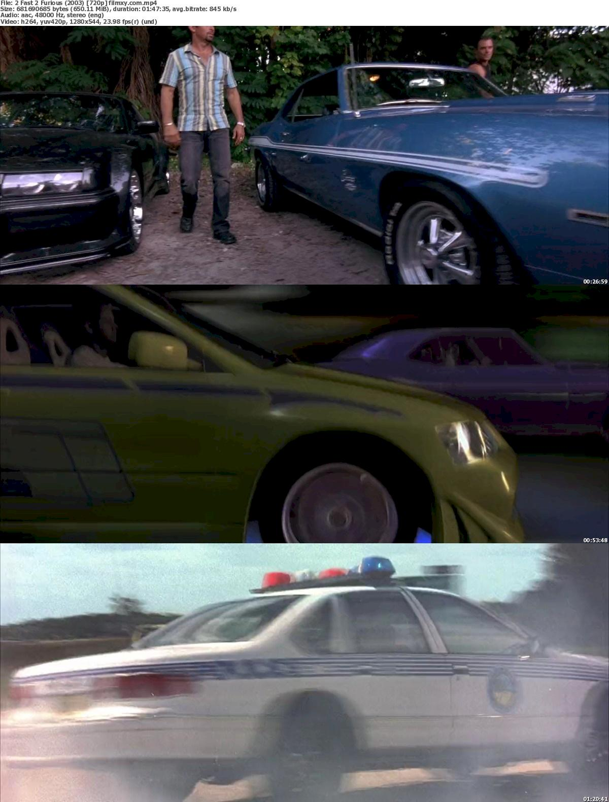 2 Fast 2 Furious (2003) 720p & 1080p Bluray Free Download 720p Screenshot