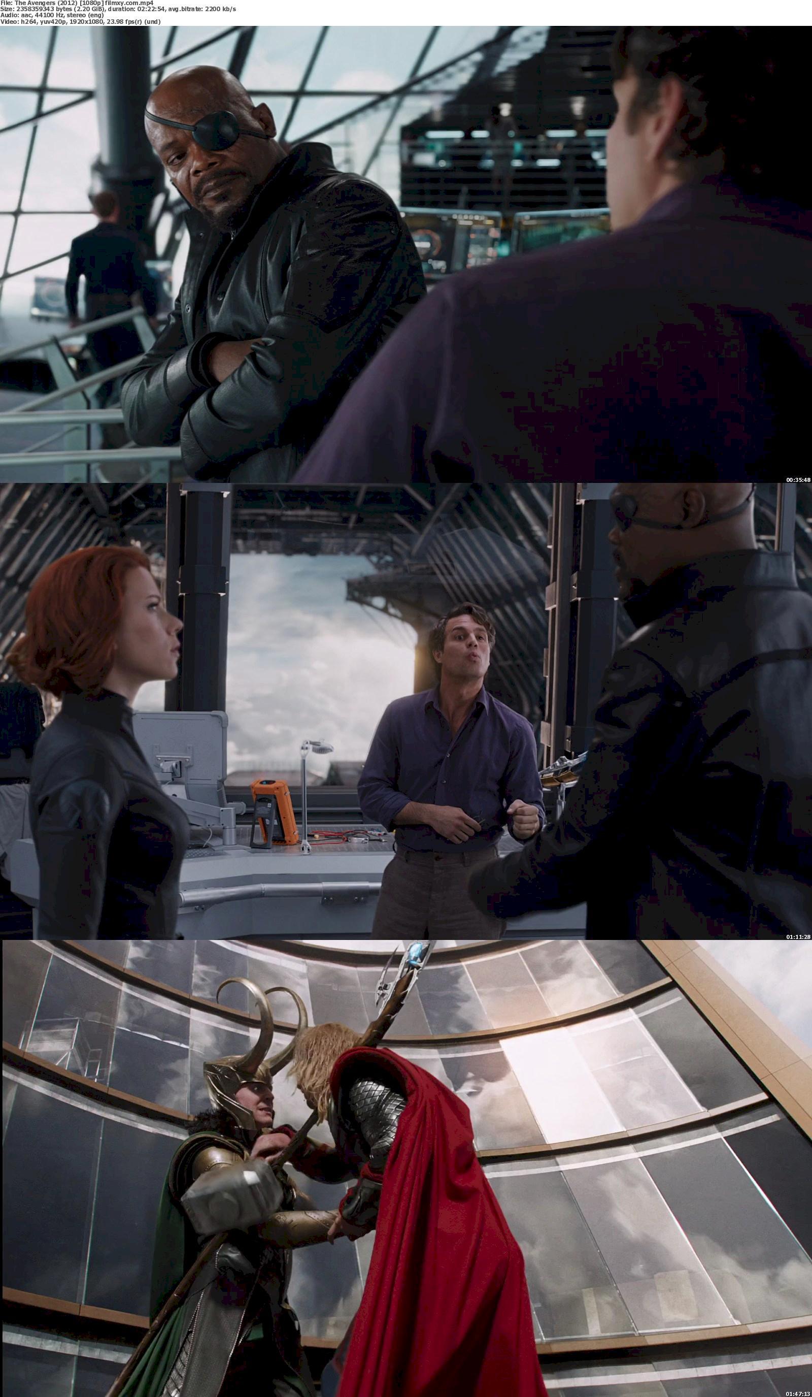 Watch The Avengers (2012) Full Movie On Filmxy