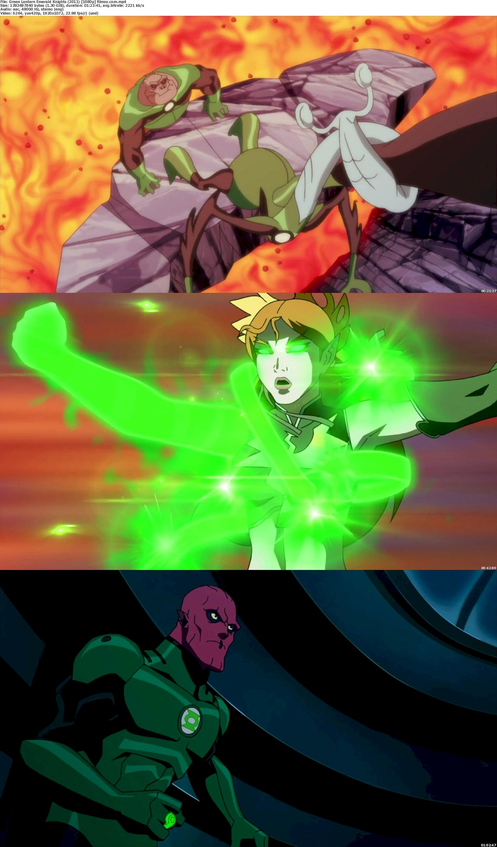 Green Lantern Emerald Knights (2011) 720p & 1080p Bluray Free Download 1080p Screenshot