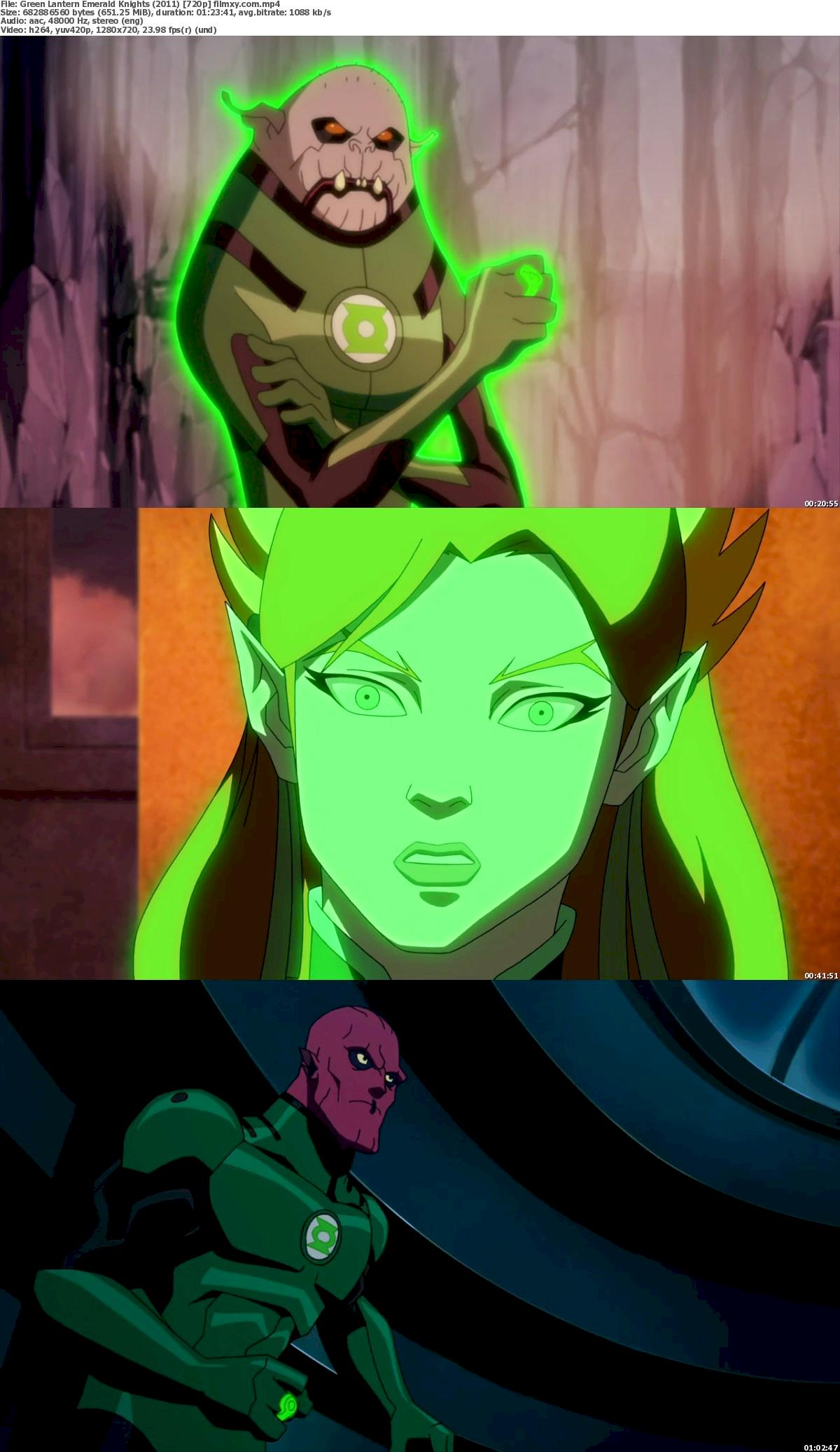Green Lantern Emerald Knights (2011) 720p & 1080p Bluray Free Download 720p Screenshot