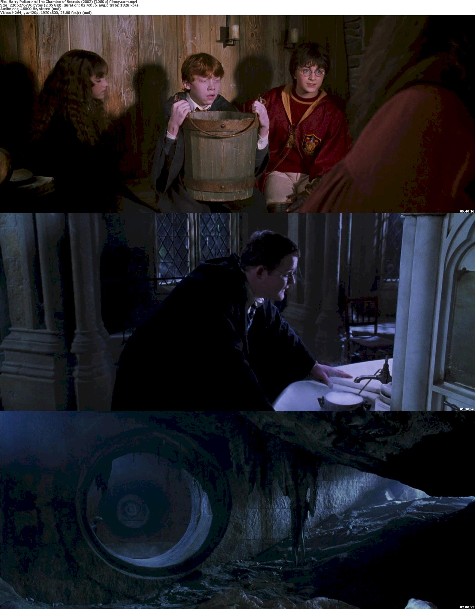 Harry Potter and the Chamber of Secrets (2002) 720p & 1080p Bluray Free Download 1080p Screenshot