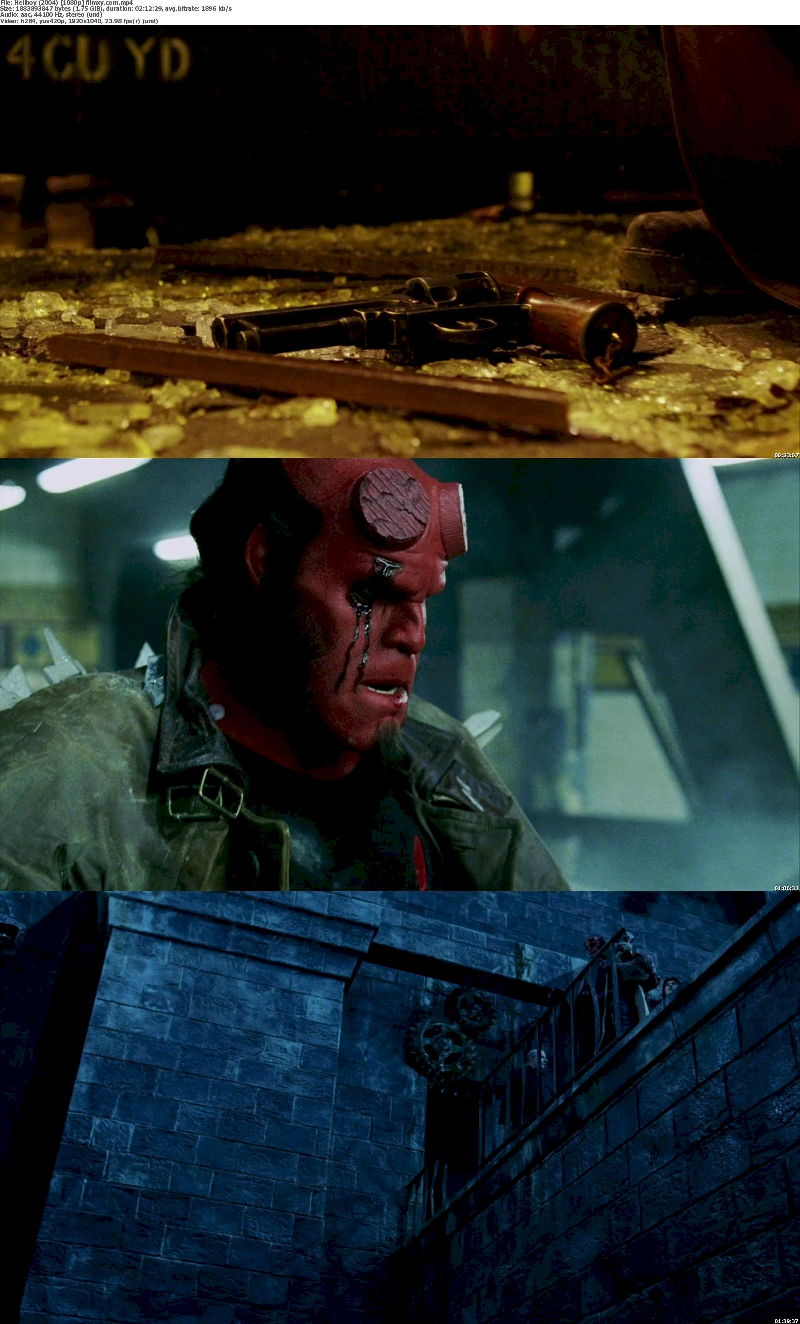 Hellboy (2004) 720p & 1080p Bluray Free Download 1080p Screenshot