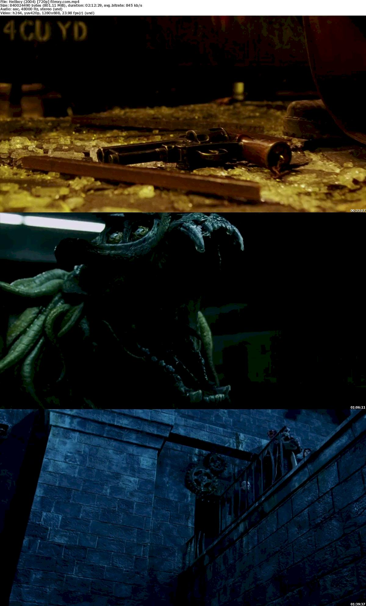 Hellboy (2004) 720p & 1080p Bluray Free Download 720p Screenshot