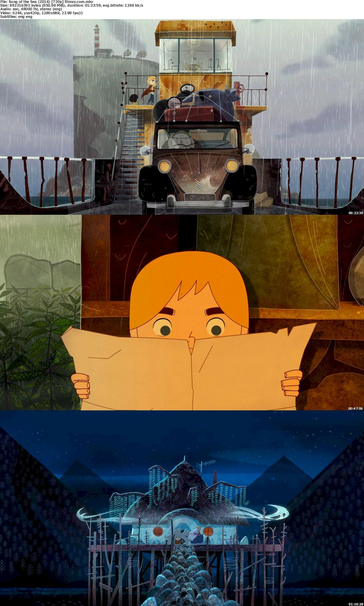 Song of the Sea (2014) 720p & 1080p Bluray Free Download 720p Screenshot