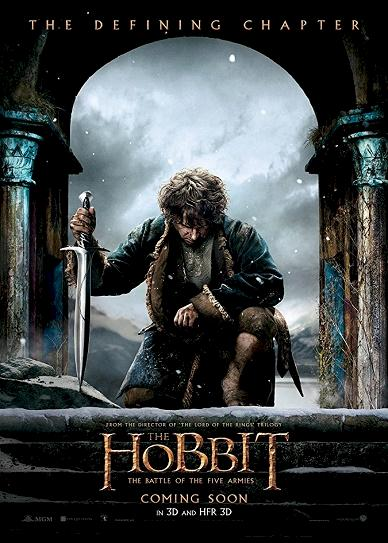 The Hobbit Battle Of The Five Armies (2014) cover