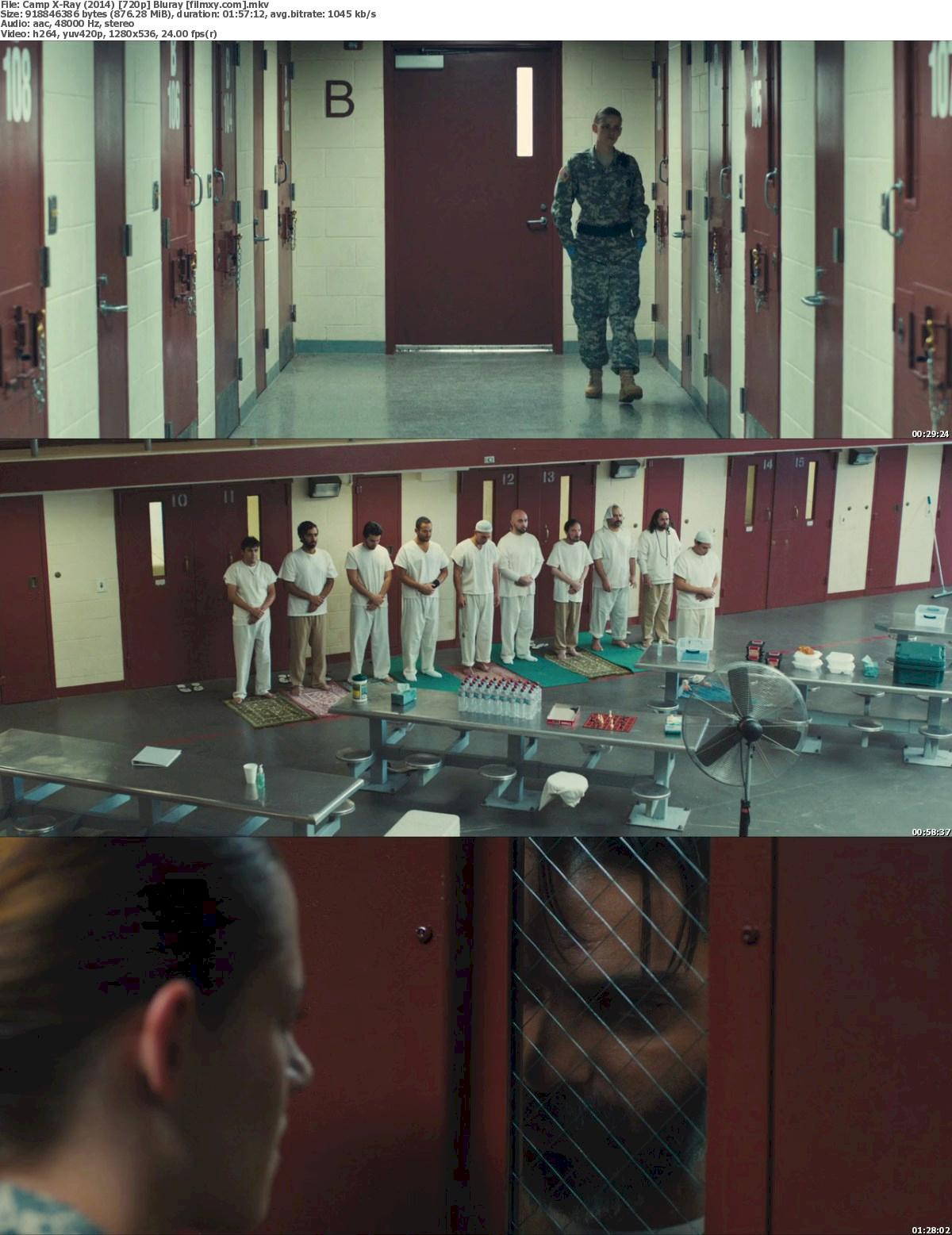 Camp X-Ray (2014) 720p & 1080p Bluray Free Download 720p Screenshot