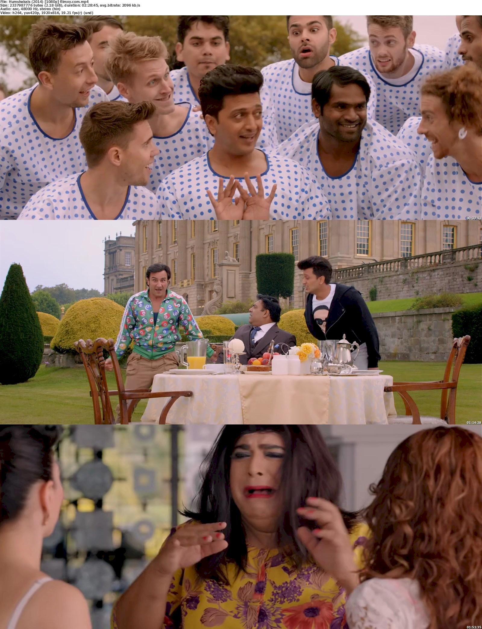 Humshakals (2014) 720p & 1080p Bluray Free Download 1080p Screenshot