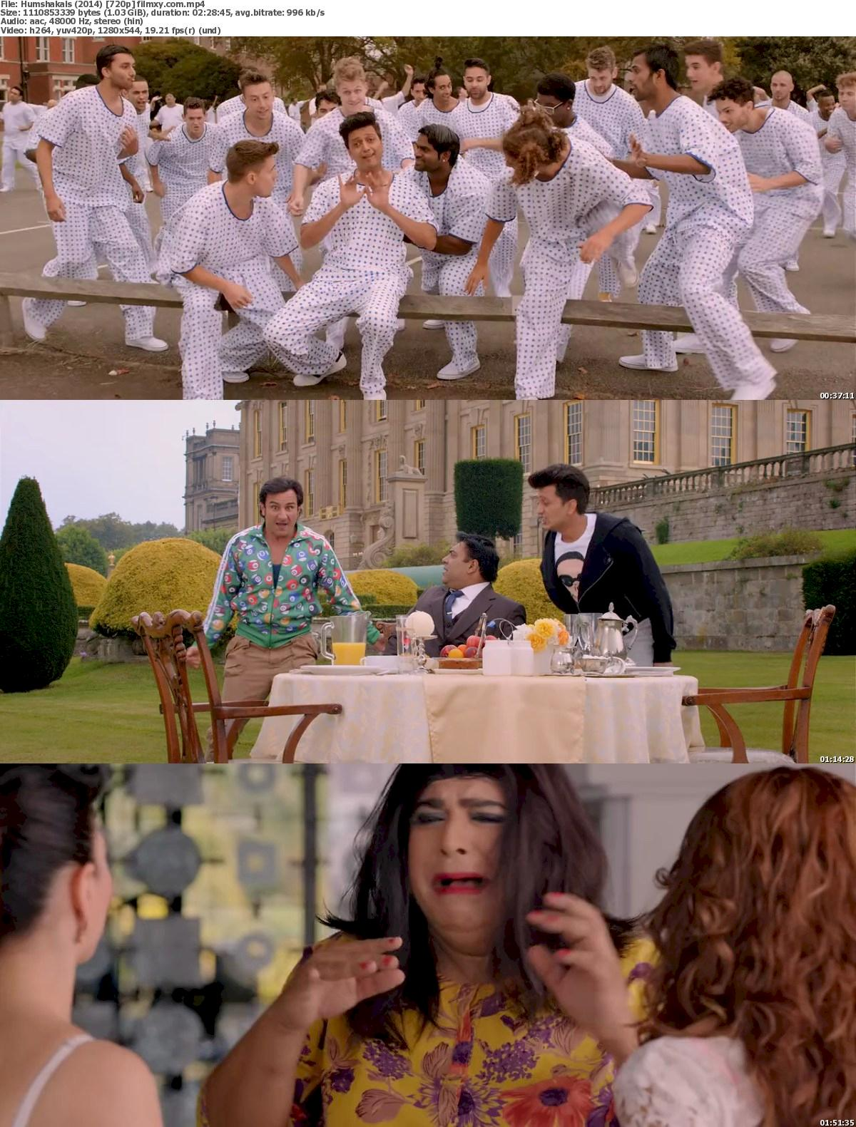 Humshakals (2014) 720p & 1080p Bluray Free Download 720p Screenshot