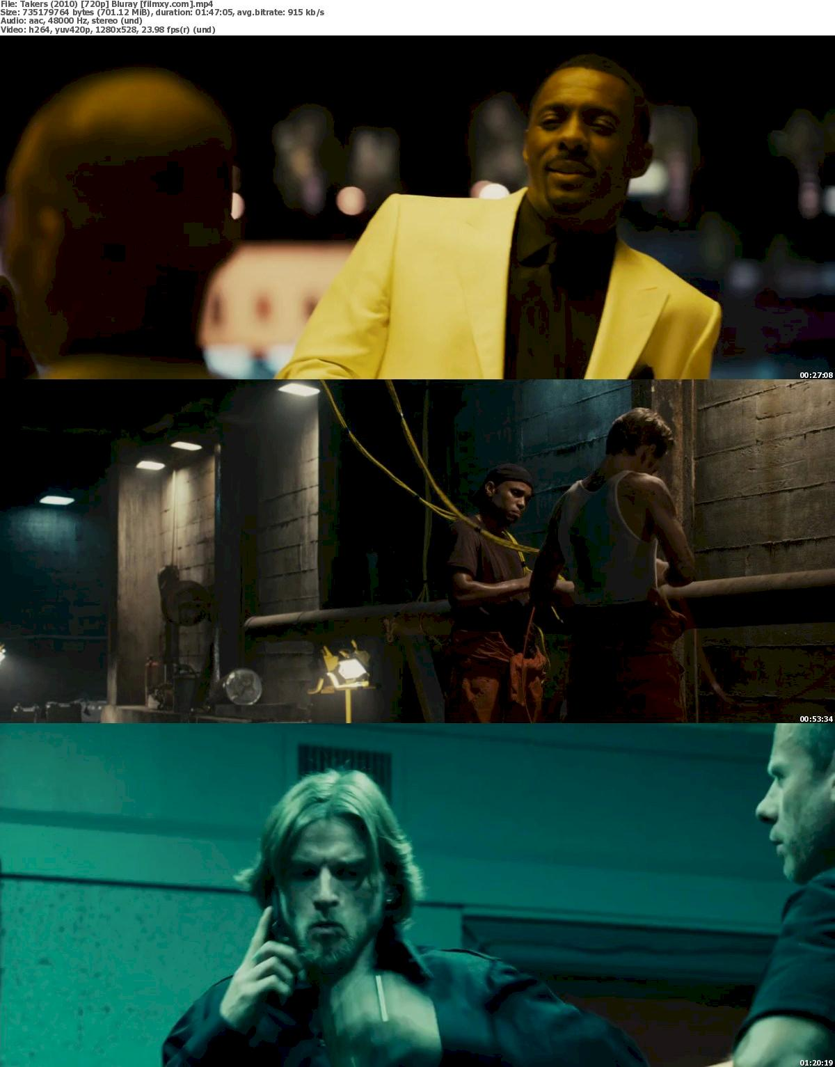 Takers (2010) 720p & 1080p Bluray Free Download 720p Screenshot