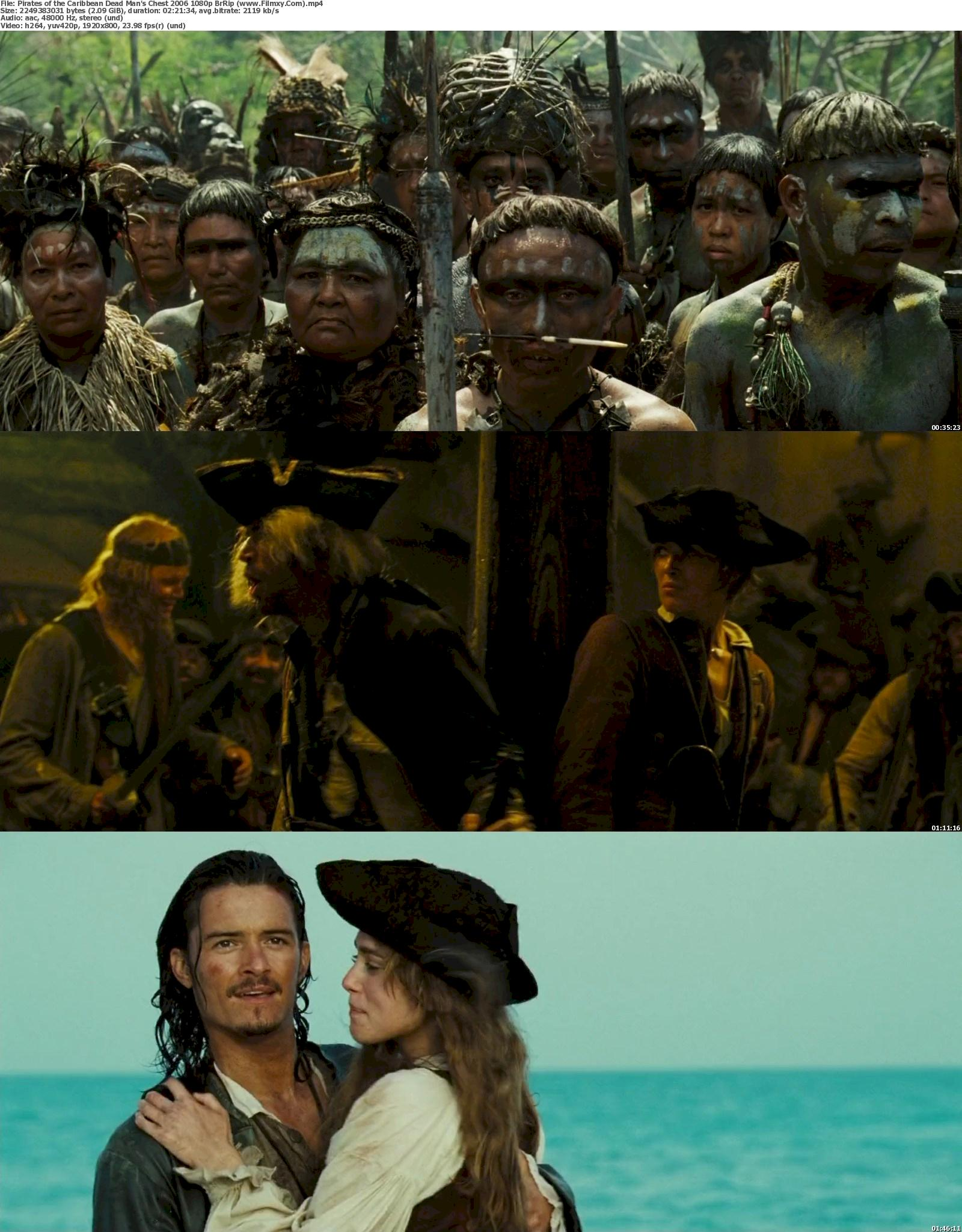 Pirates of the Caribbean Dead Man's Chest (2006) 1080p Screenshot