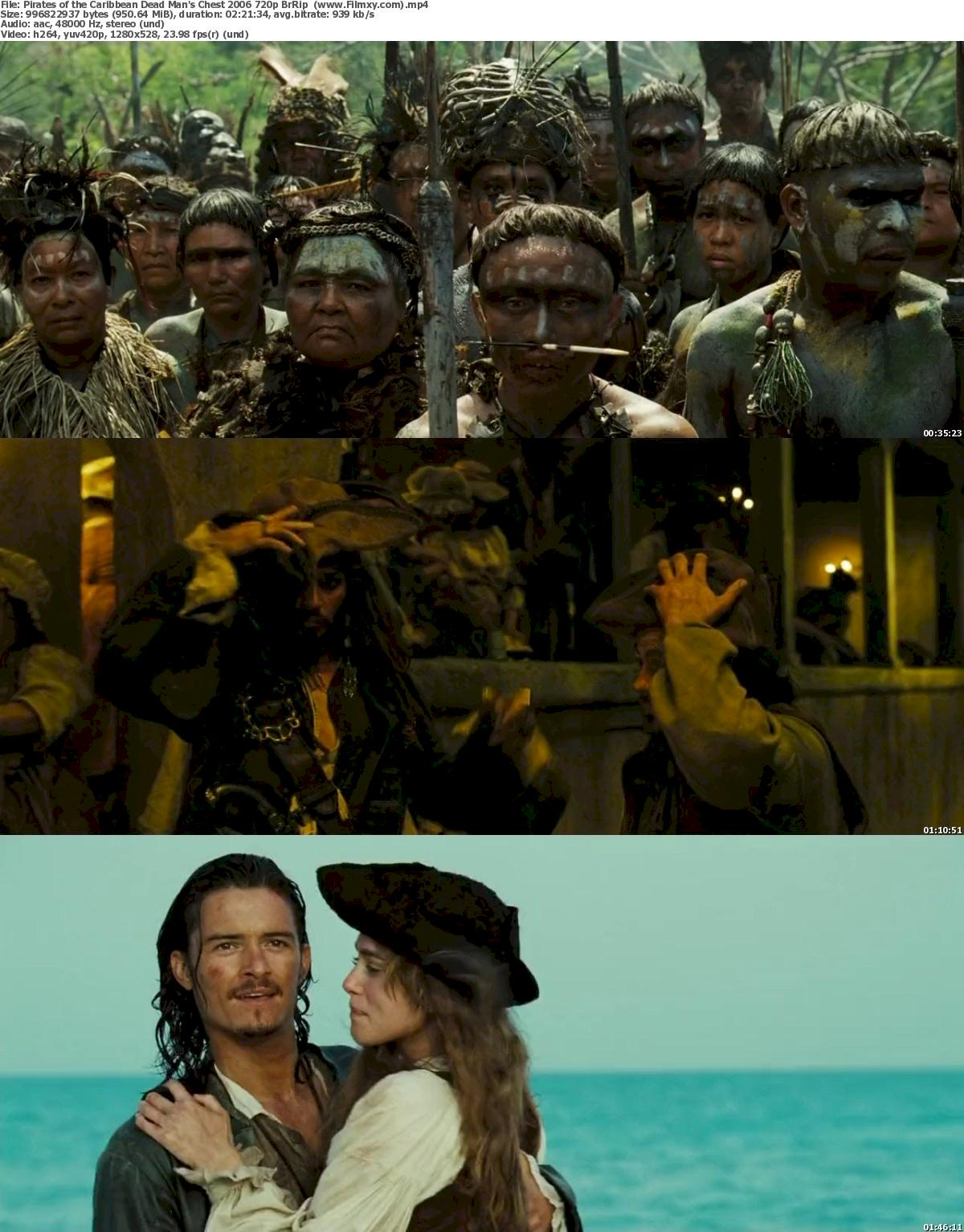 Pirates of the Caribbean Dead Man's Chest (2006) 720p Screenshot