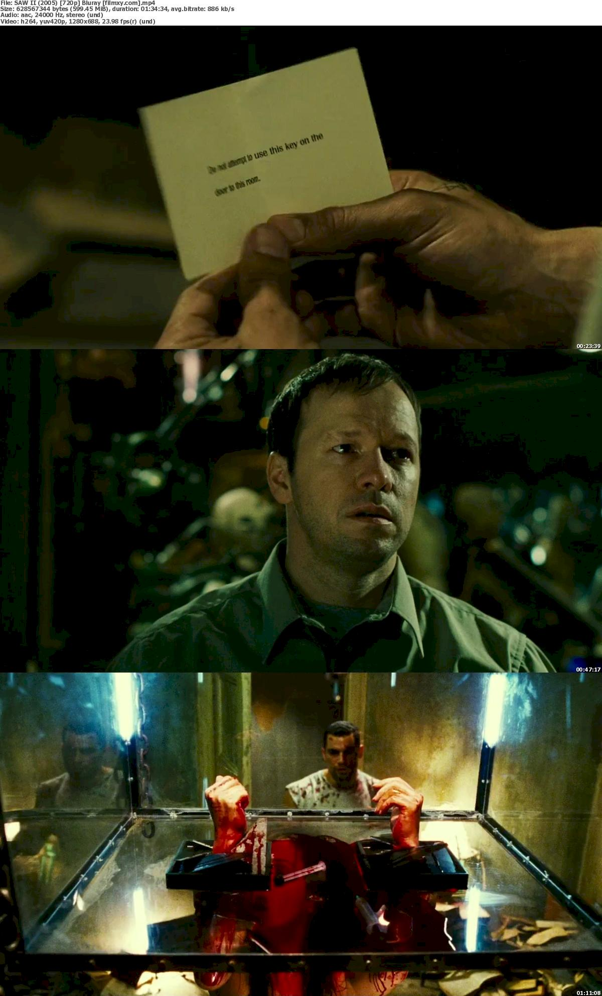 SAW II (2005) 720p & 1080p Bluray Free Download 720p Screenshot