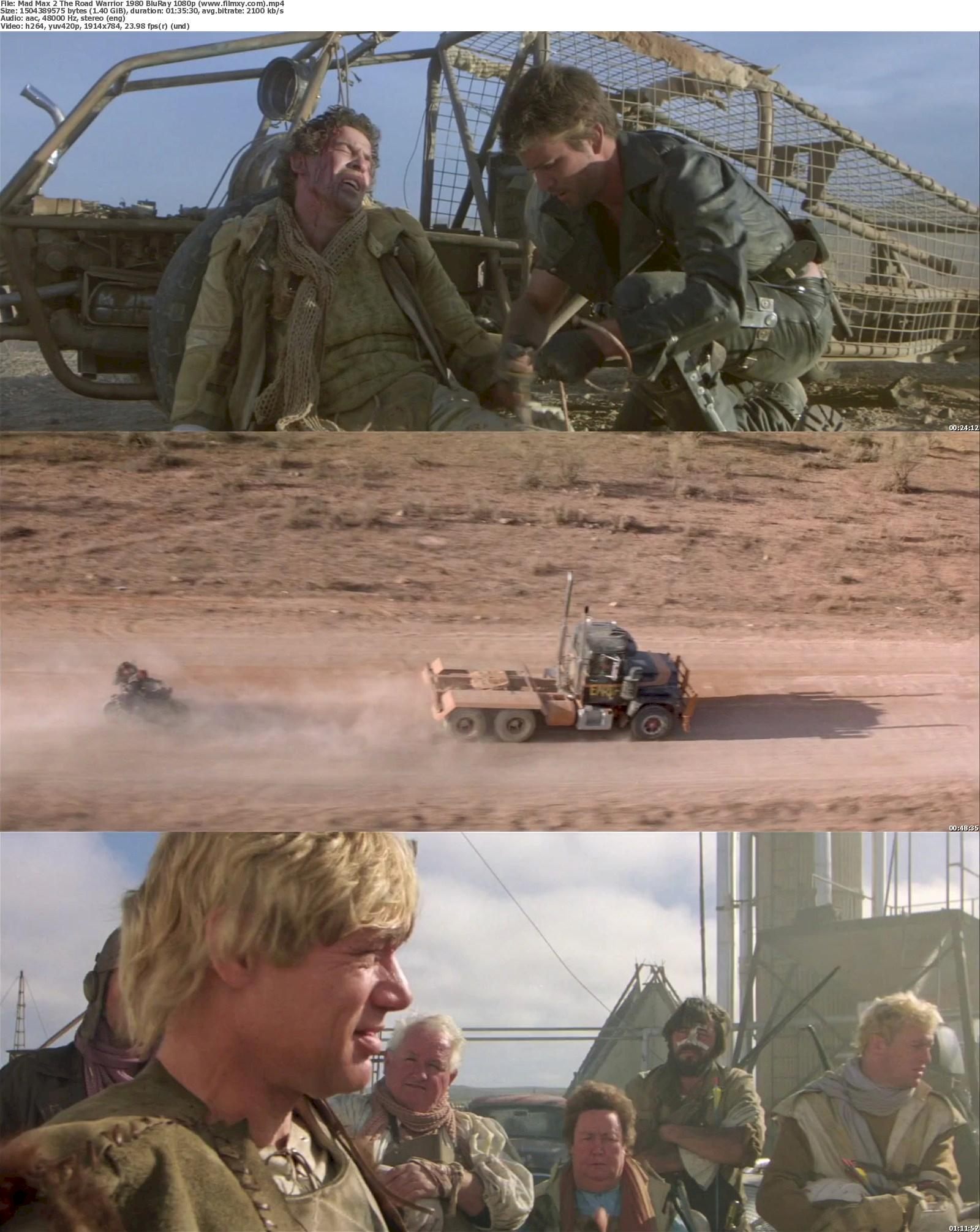 Mad Max 2 The Road Warrior (1980) BluRay 720p & 1080p Free Download 1080p Screenshot