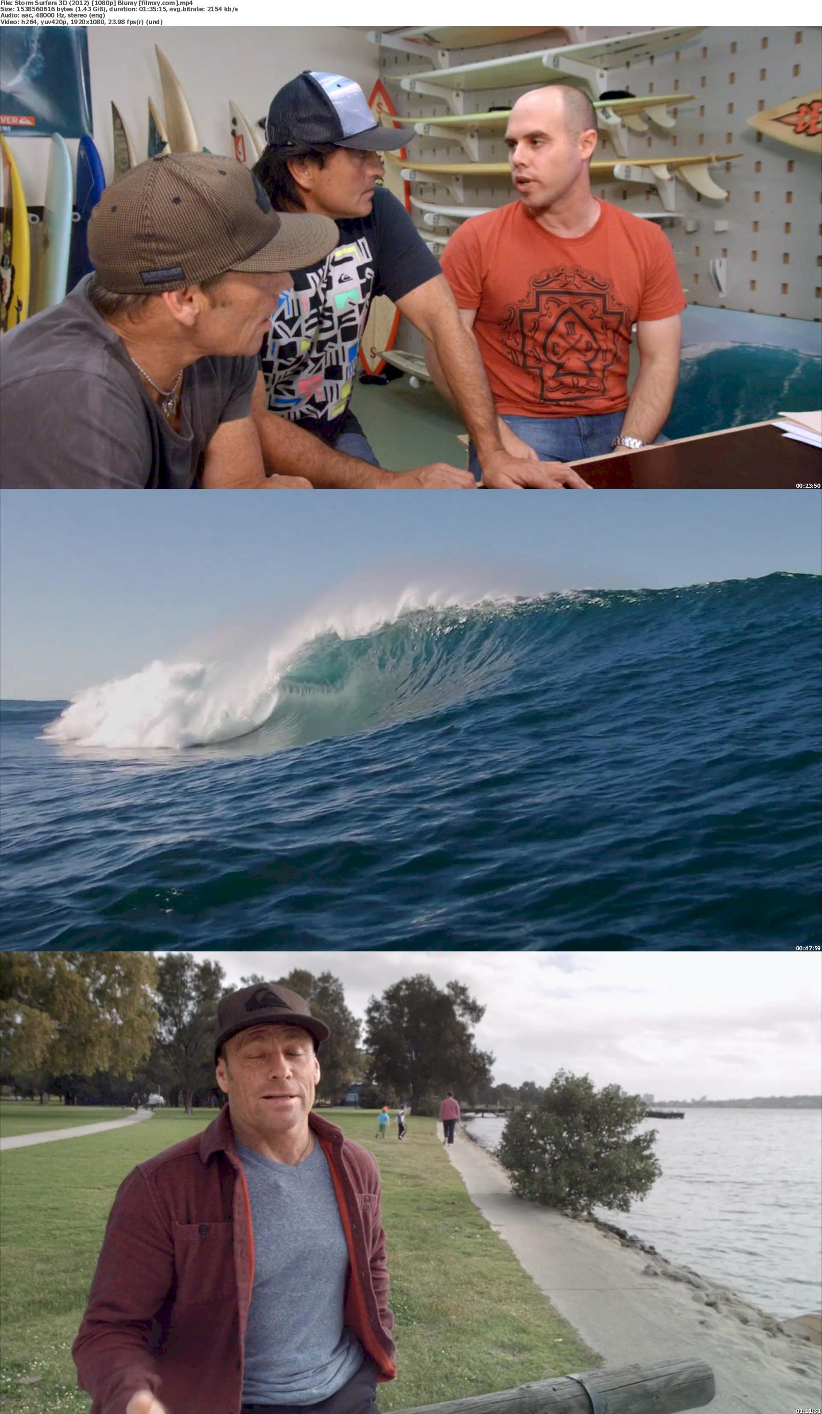 Storm Surfers 3D (2012) 720p & 1080p Bluray Free Download 1080p Screenshot