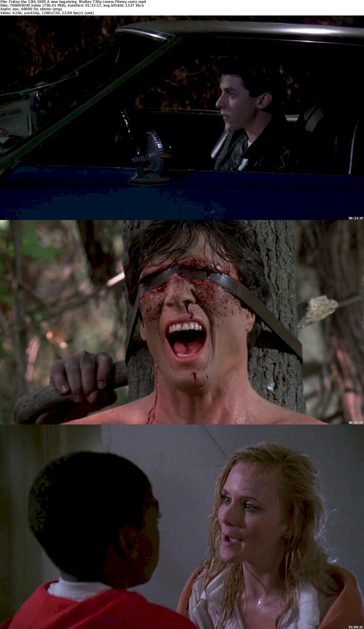 Friday the 13th (1985) A new begaining  BluRay 720p & 1080p Free Download 720p Screenshot