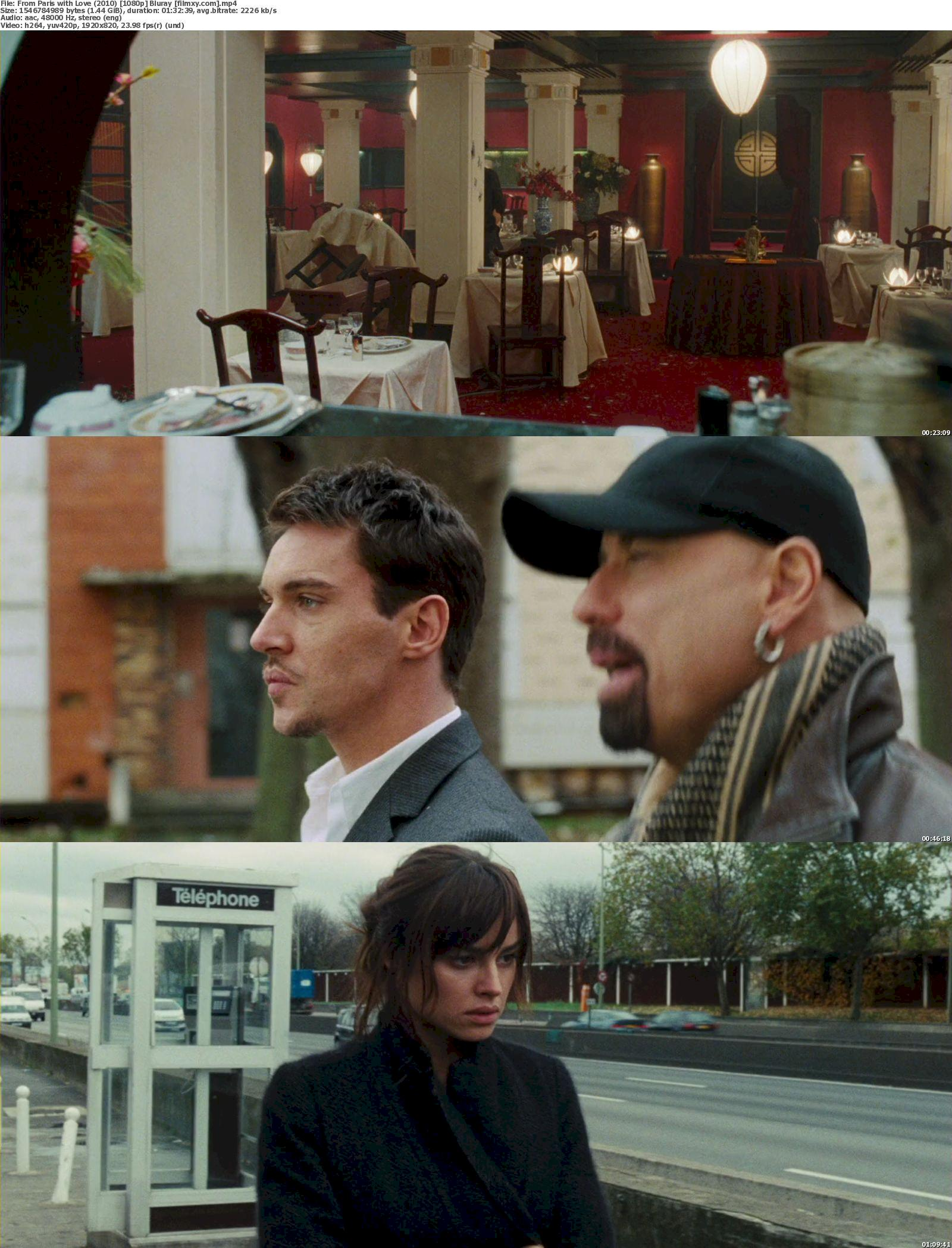 From Paris with Love (2010) 720p & 1080p Bluray Free Download 1080p Screenshot