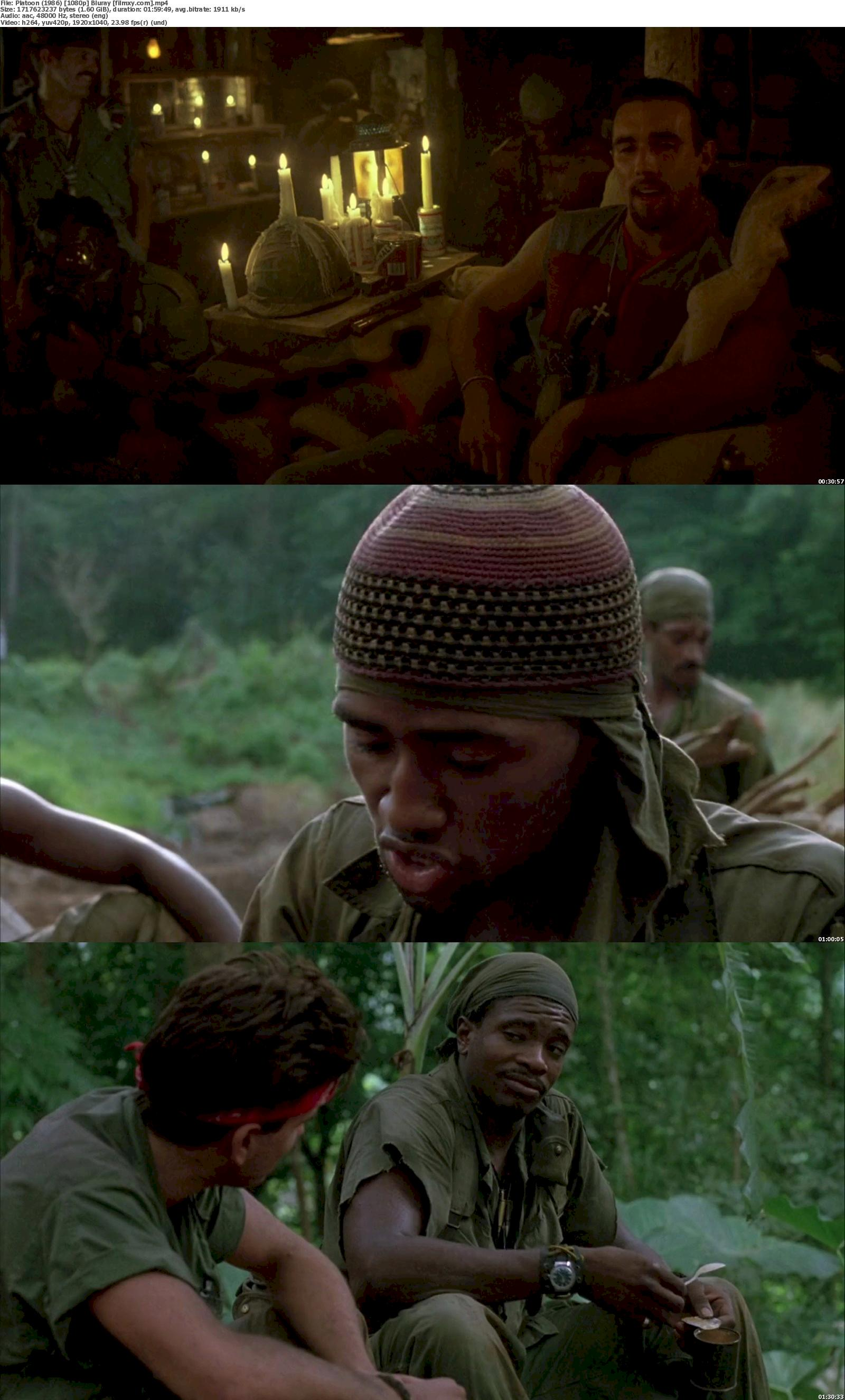 Platoon (1986) 720p & 1080p Bluray Free Download 1080p Screenshot