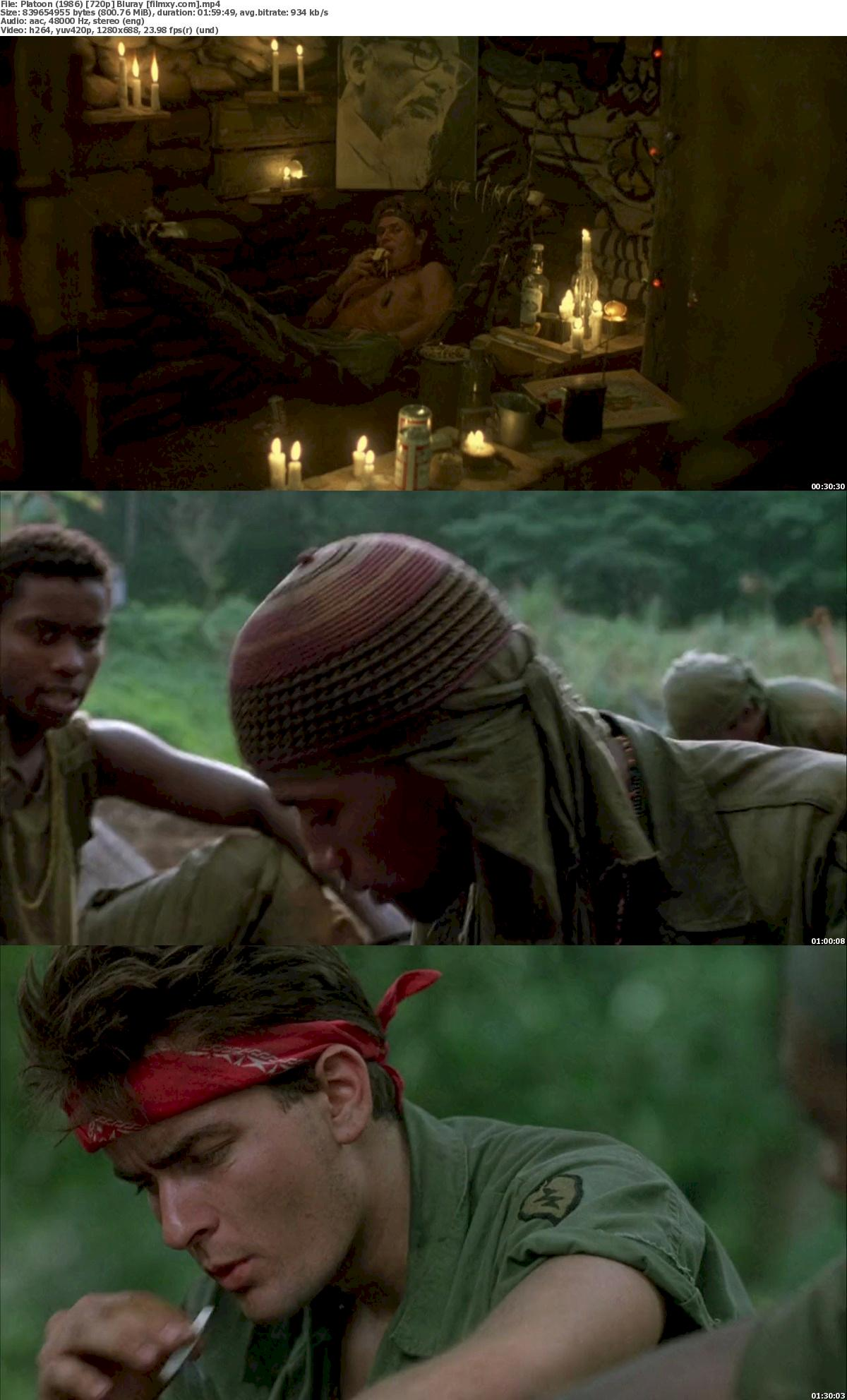 Platoon (1986) 720p & 1080p Bluray Free Download 720p Screenshot