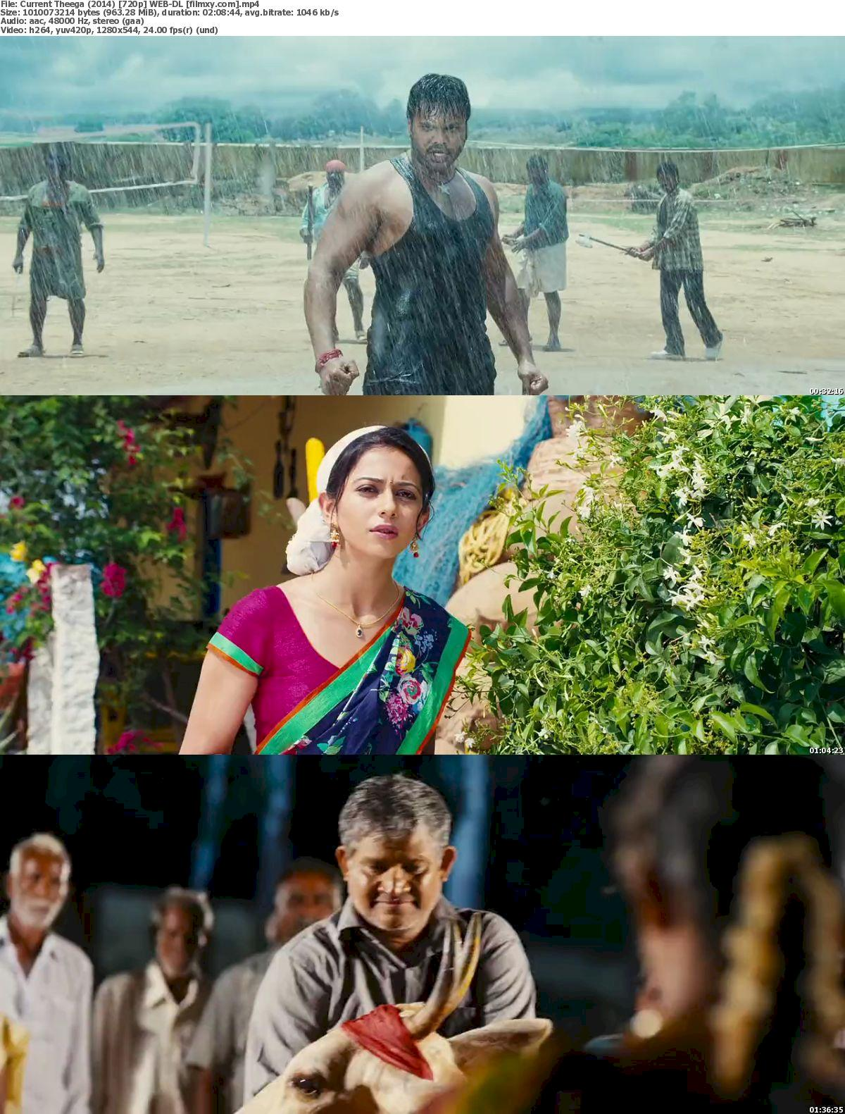 Current Theega (2014) 720p & 1080p WEB-DL Free Download 720p Screenshot