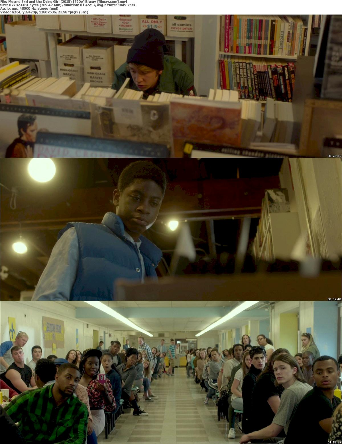 Me and Earl and the Dying Girl (2015) 720p & 1080p Bluray Free Download 720p Screenshot