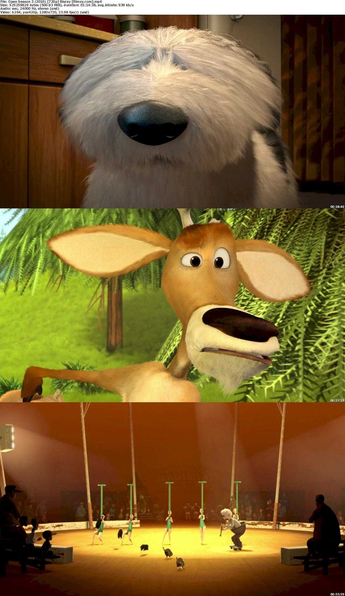 Open Season 3 (2010) 720p Bluray Free Download 720p Screenshot