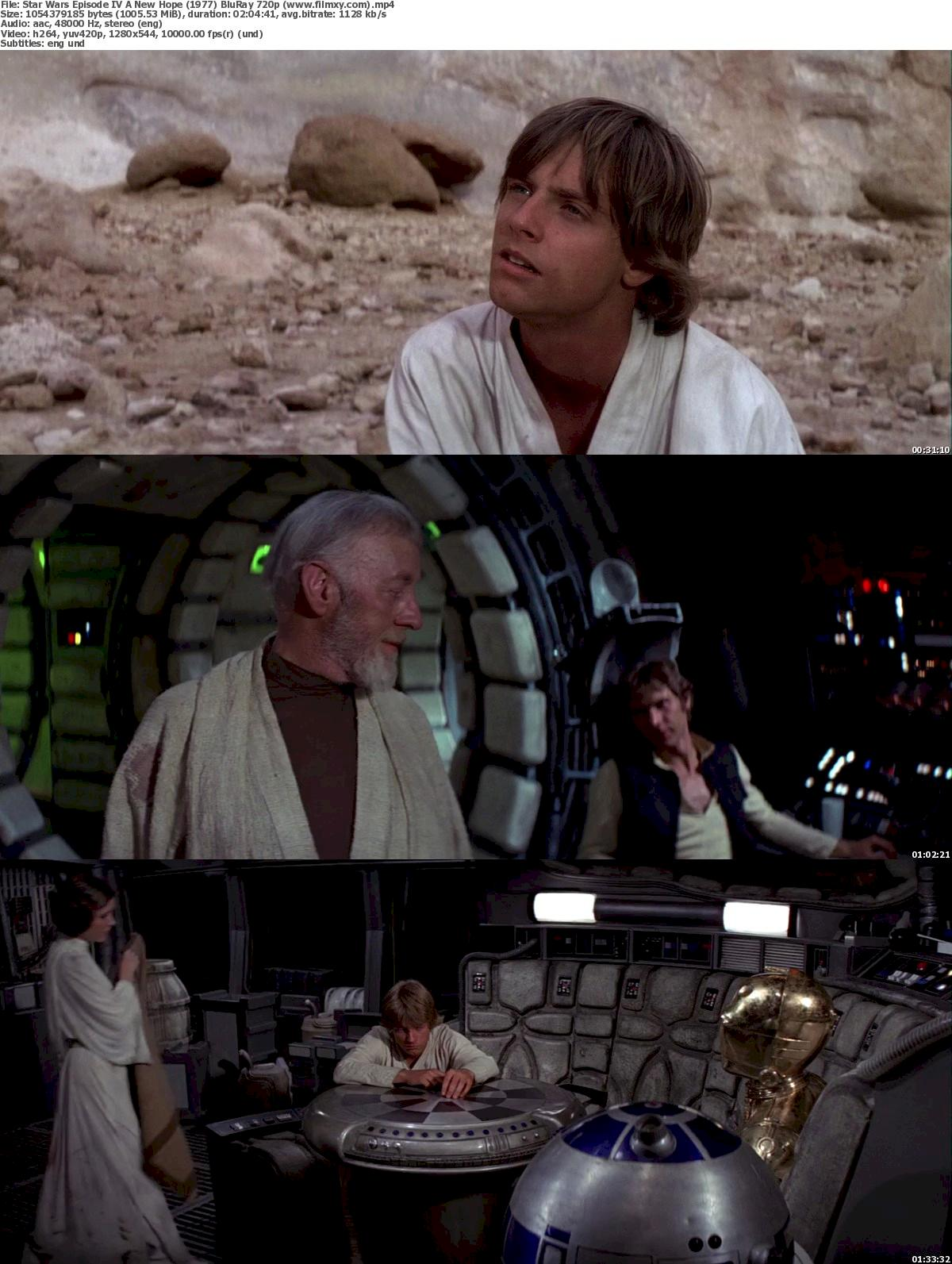 Star Wars: Episode IV – A New Hope (1977) BluRay 720p ...