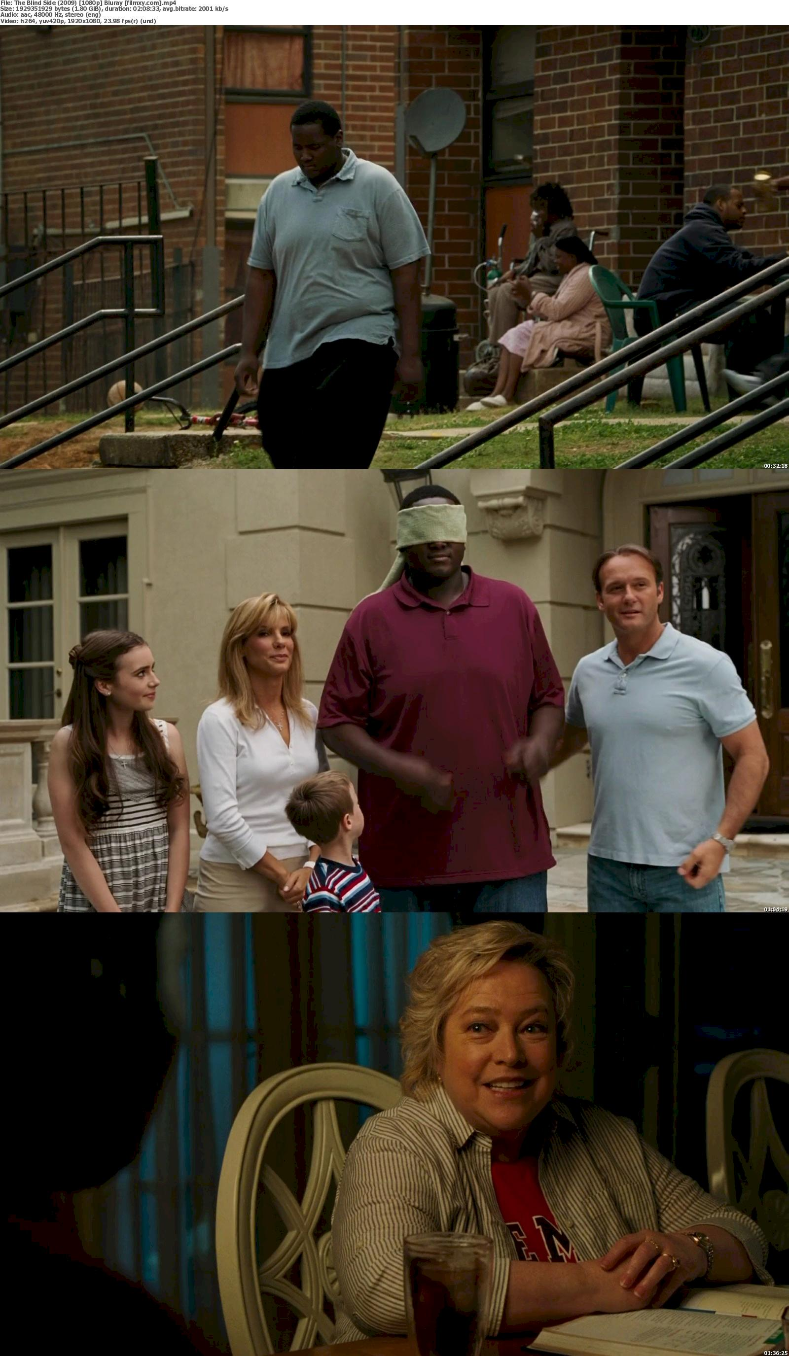 The Blind Side (2009) 720p & 1080p Bluray Free Download 1080p Screenshot