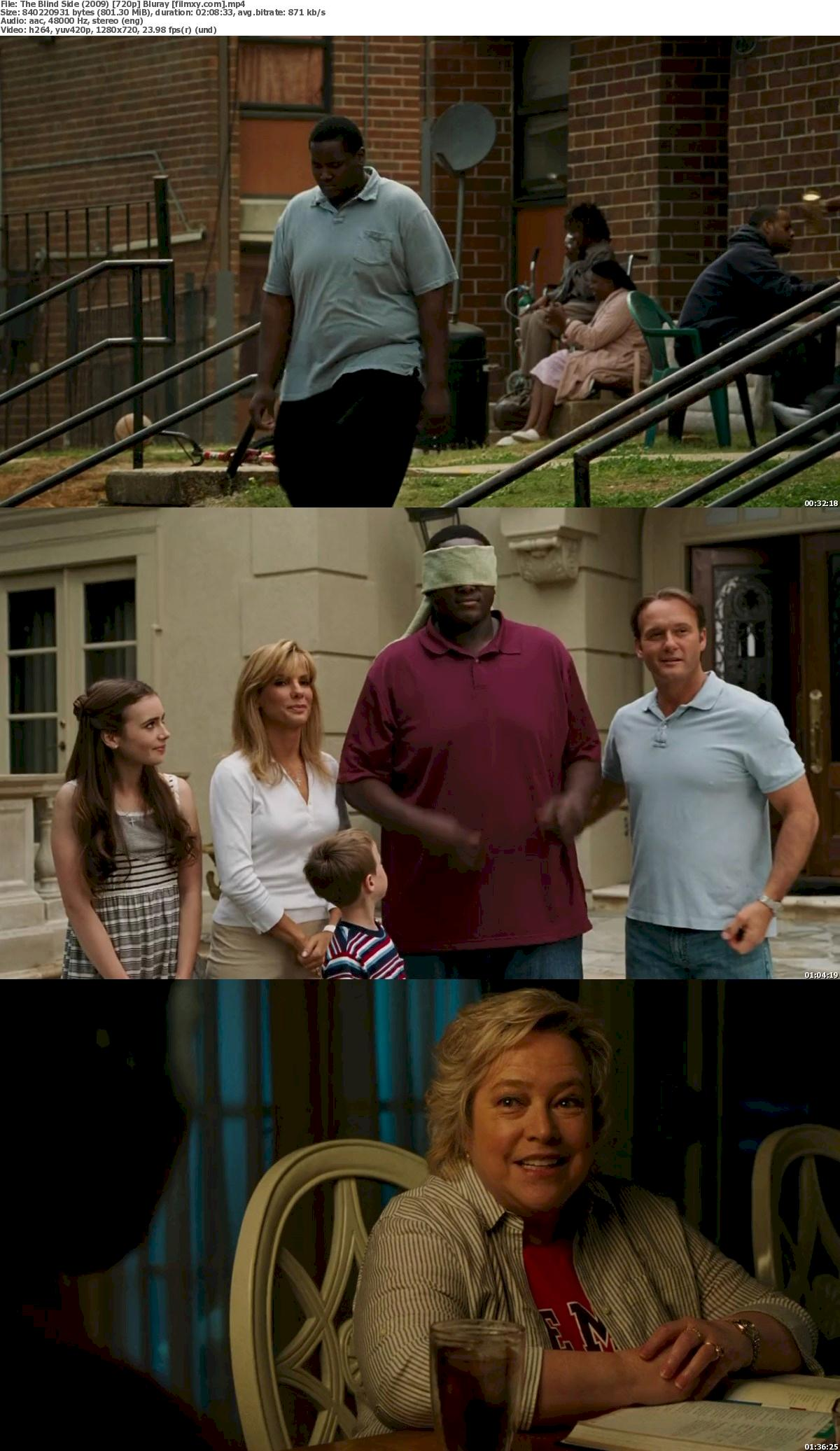 The Blind Side (2009) 720p & 1080p Bluray Free Download 720p Screenshot