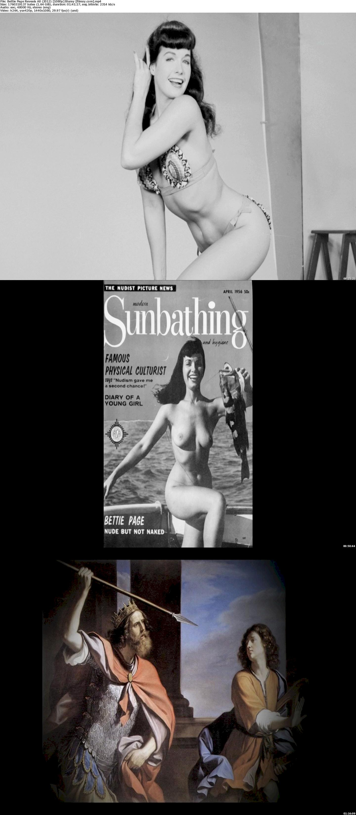 Bettie Page Reveals All (2012) [720p & 1080p] Bluray Free Movie Watch Online & Download 1080p Screenshot