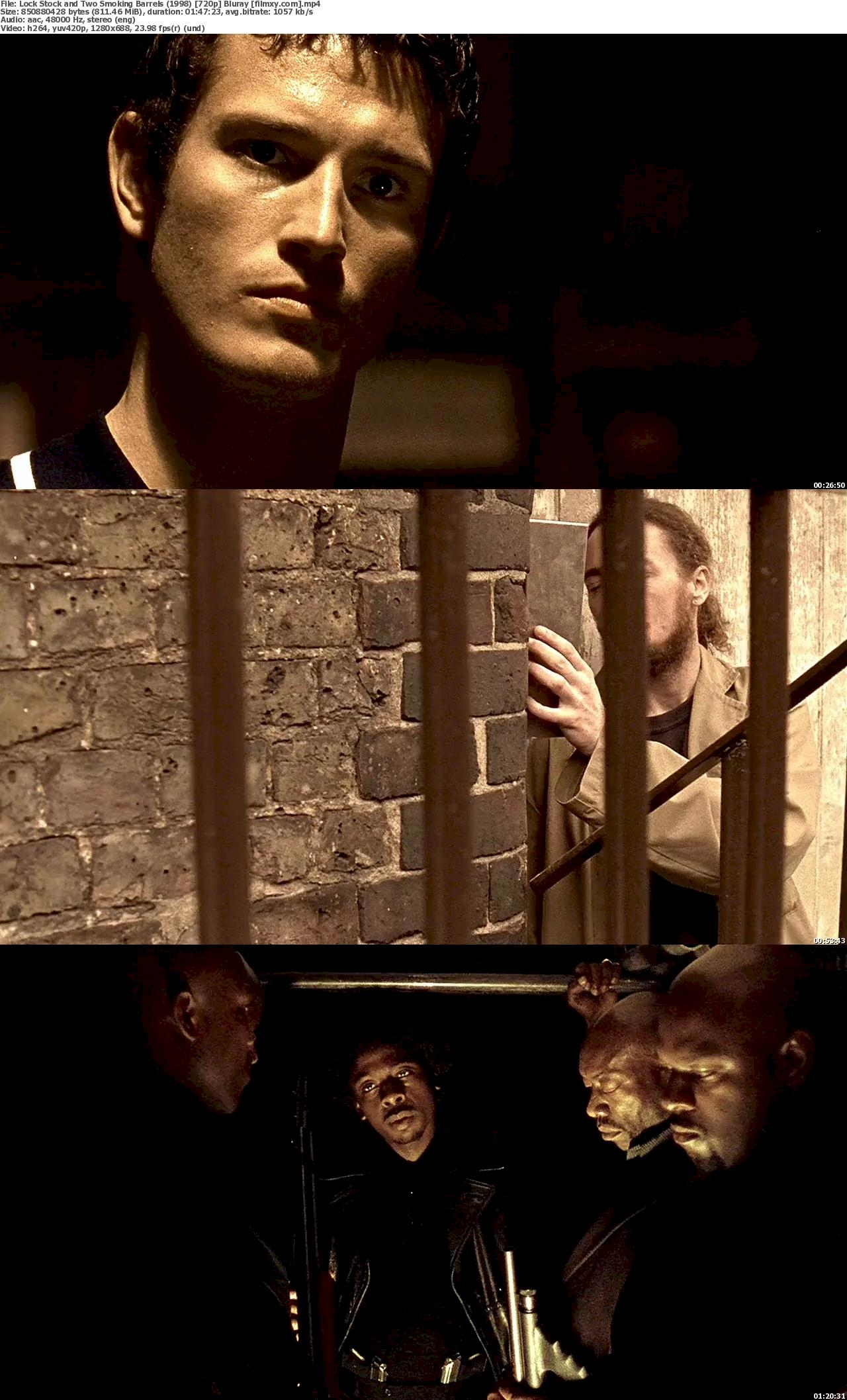 Lock Stock and Two Smoking Barrels (1998) 720p & 1080p Bluray Free Download 720p Screenshot