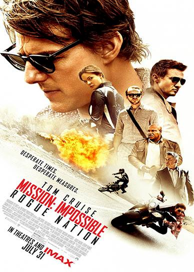 Mission: Impossible - Rogue Nation Cover