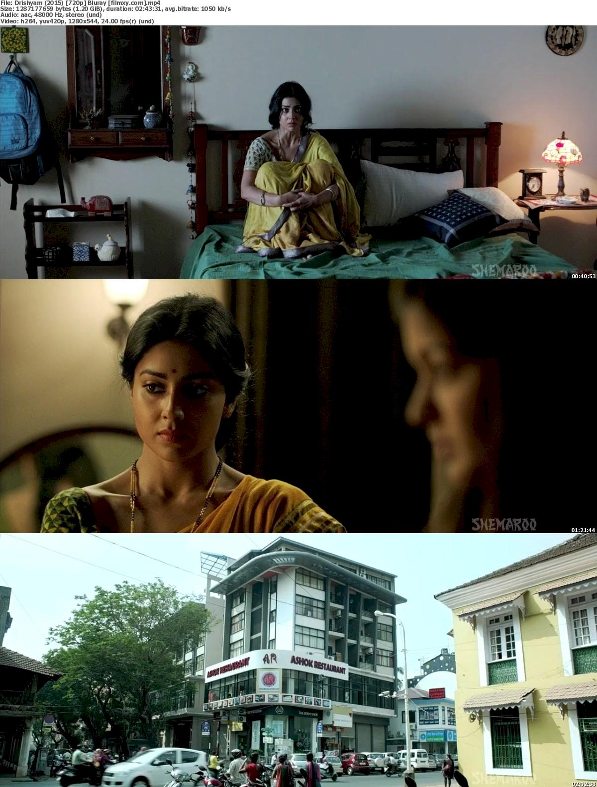 Drishyam (2015) 720p & 1080p Bluray Free Download 720p Screenshot