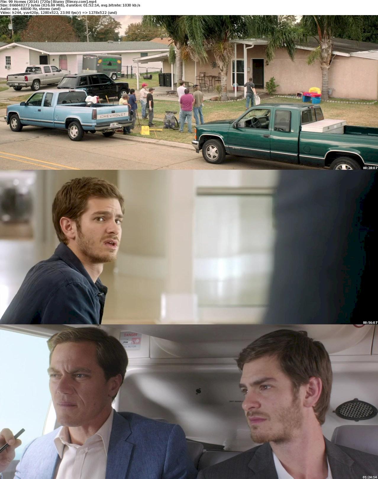 99 Homes (2014) 720p & 1080p Bluray Free Download 720p Screenshot