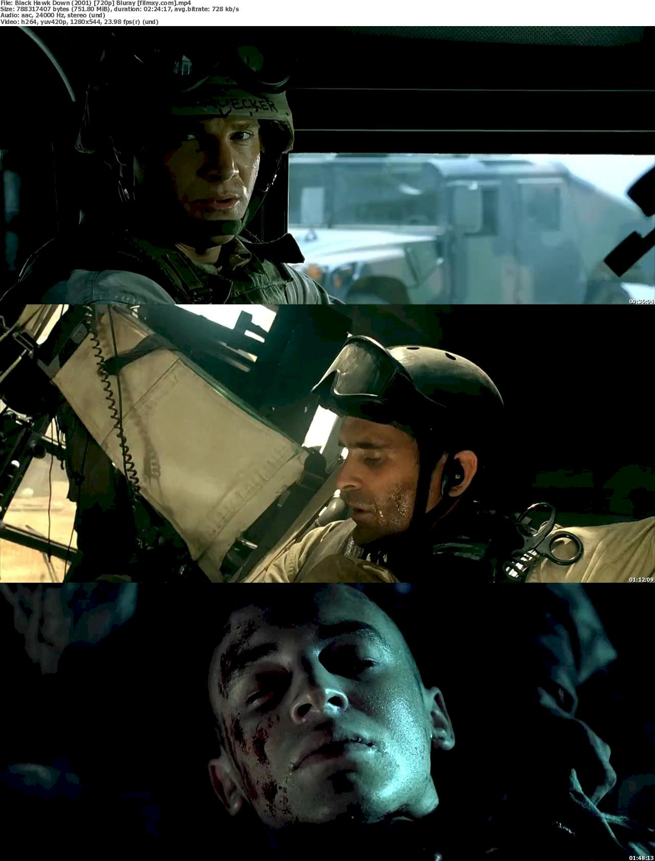 Black Hawk Down (2001) 720p & 1080p Bluray Free Download 720p Screenshot